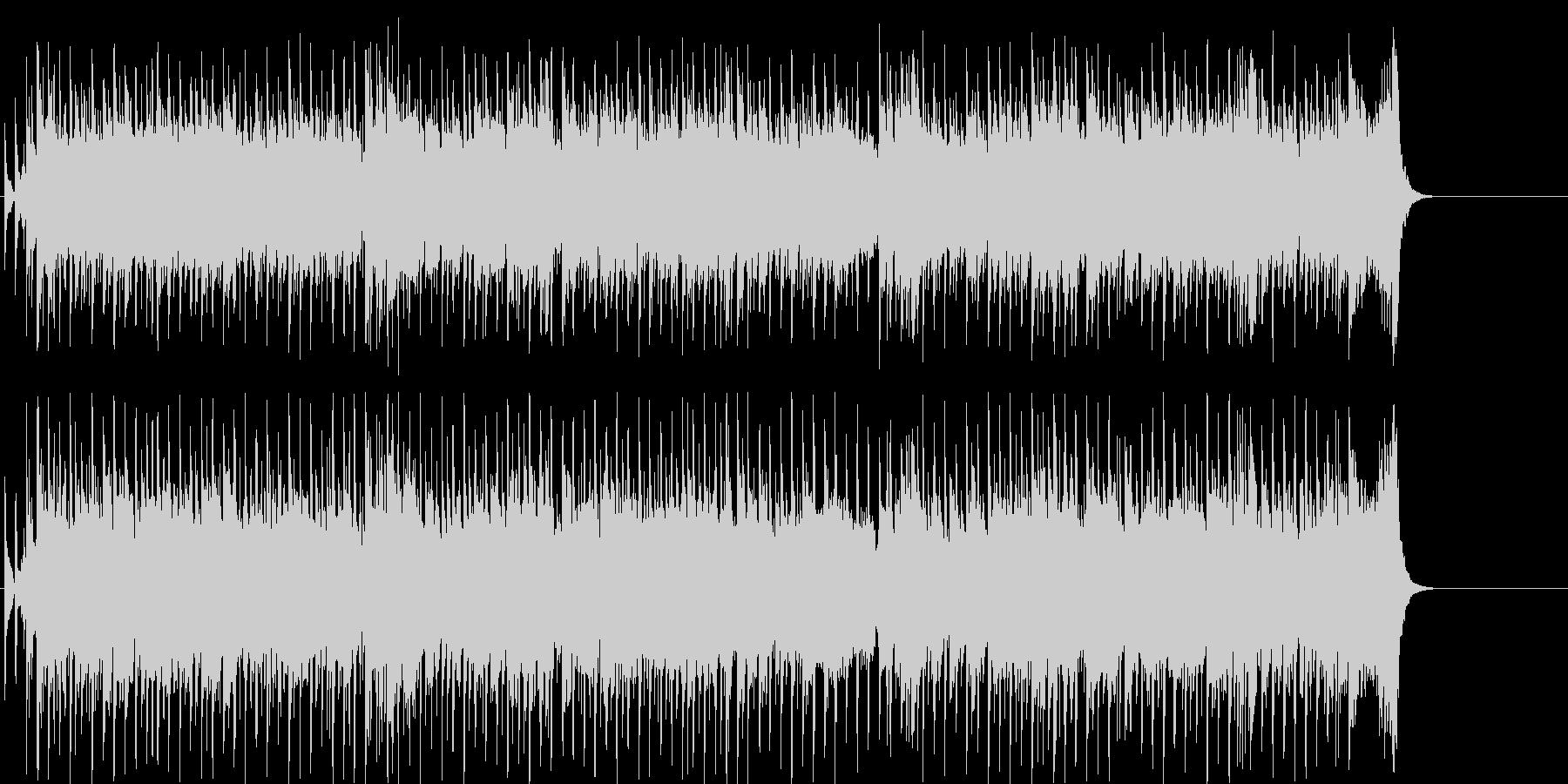 オープニング 挑戦 前進 テーマ 躍動の未再生の波形