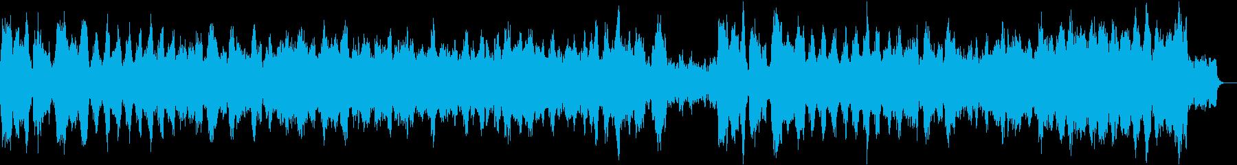 チャイコフスキー四季より10月秋の歌の再生済みの波形