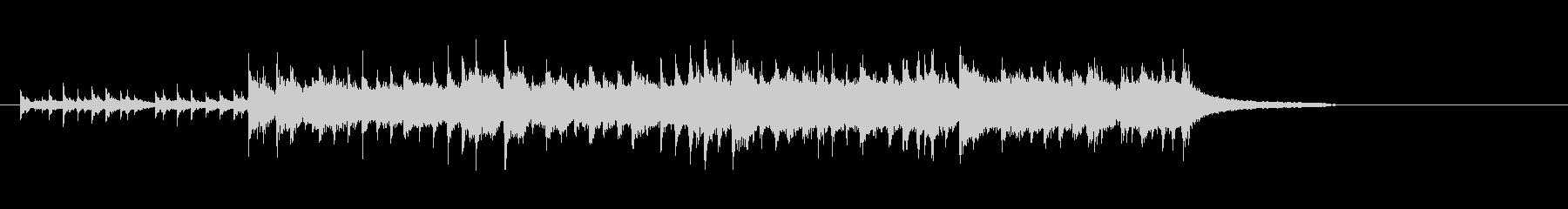 民族音楽風(バグ・パイプ調)の未再生の波形