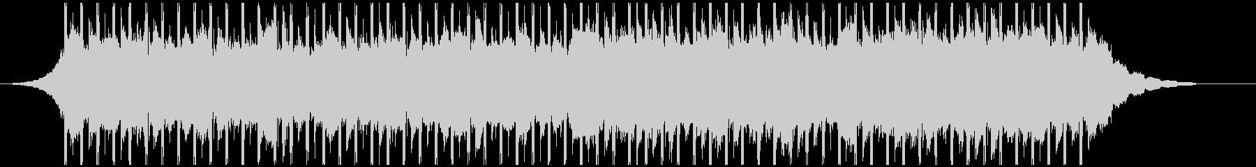 チュートリアル(40秒)の未再生の波形