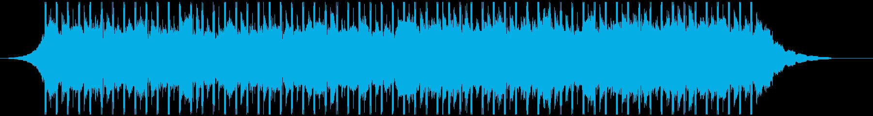 チュートリアル(40秒)の再生済みの波形