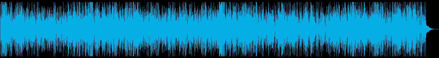 ヨーロッパの街角音楽の再生済みの波形