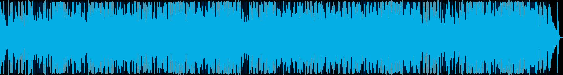 緊張感のある軽快なポップロックの再生済みの波形