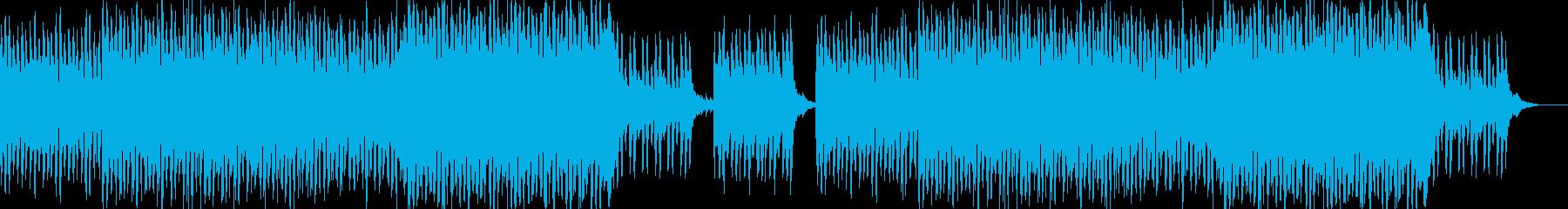 ワルツでハロウィン風のオーケストラの再生済みの波形