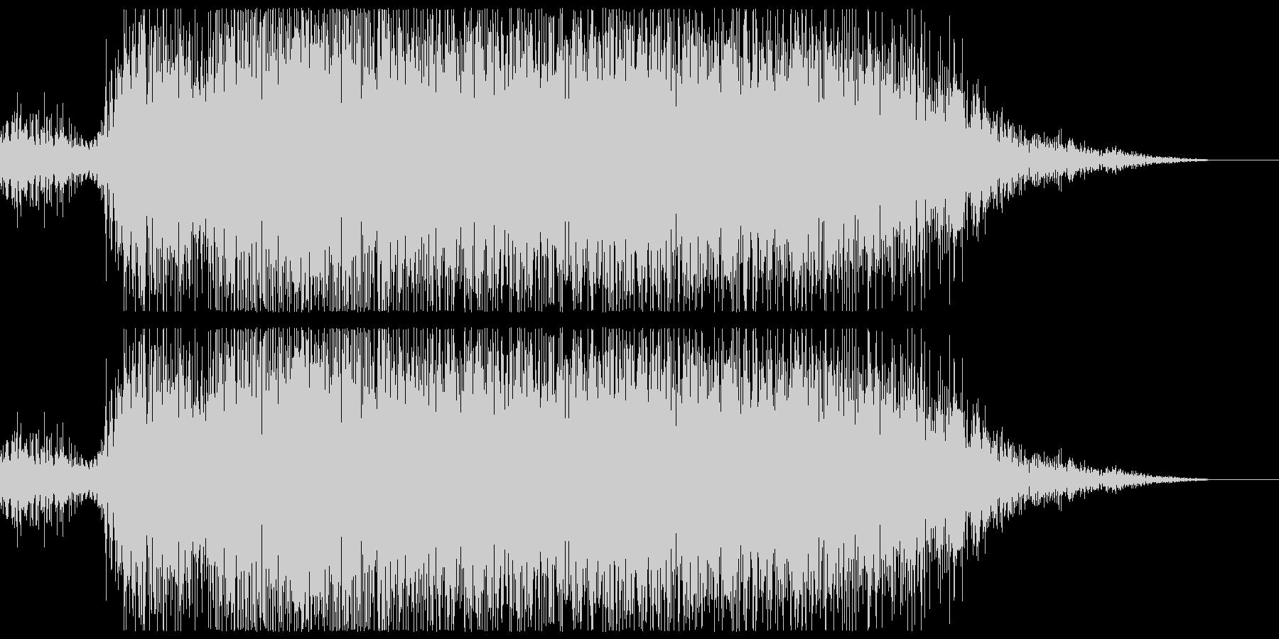 プシュー(エアー音、蒸気音)の未再生の波形