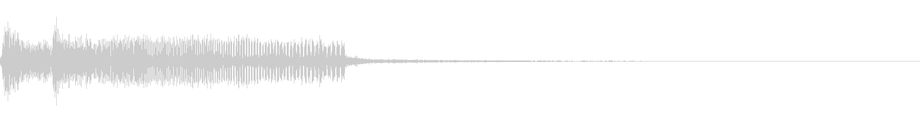 ビープ音ボンクス31の未再生の波形
