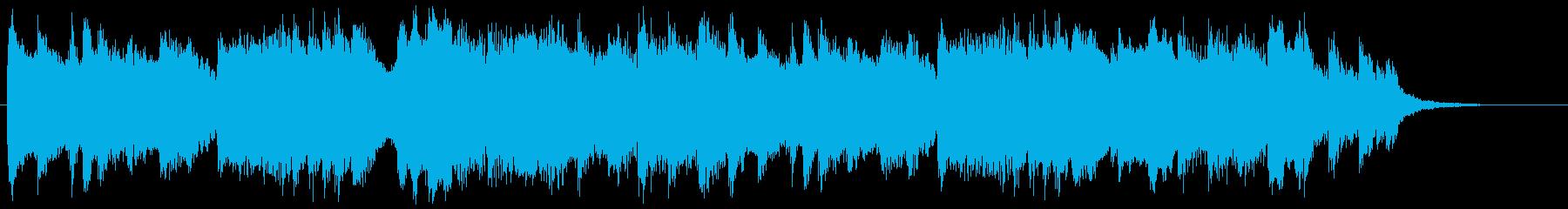 陽だまりと子犬のワルツの再生済みの波形