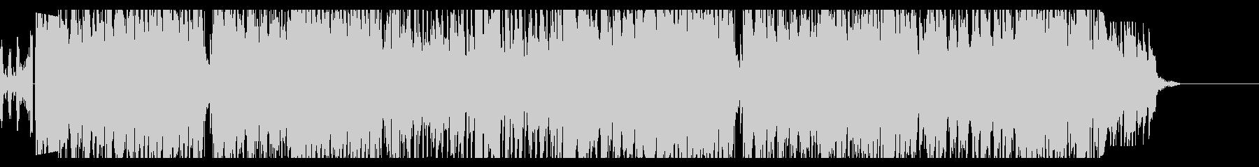きらびやかなディスコ〜ファンク風ポップの未再生の波形