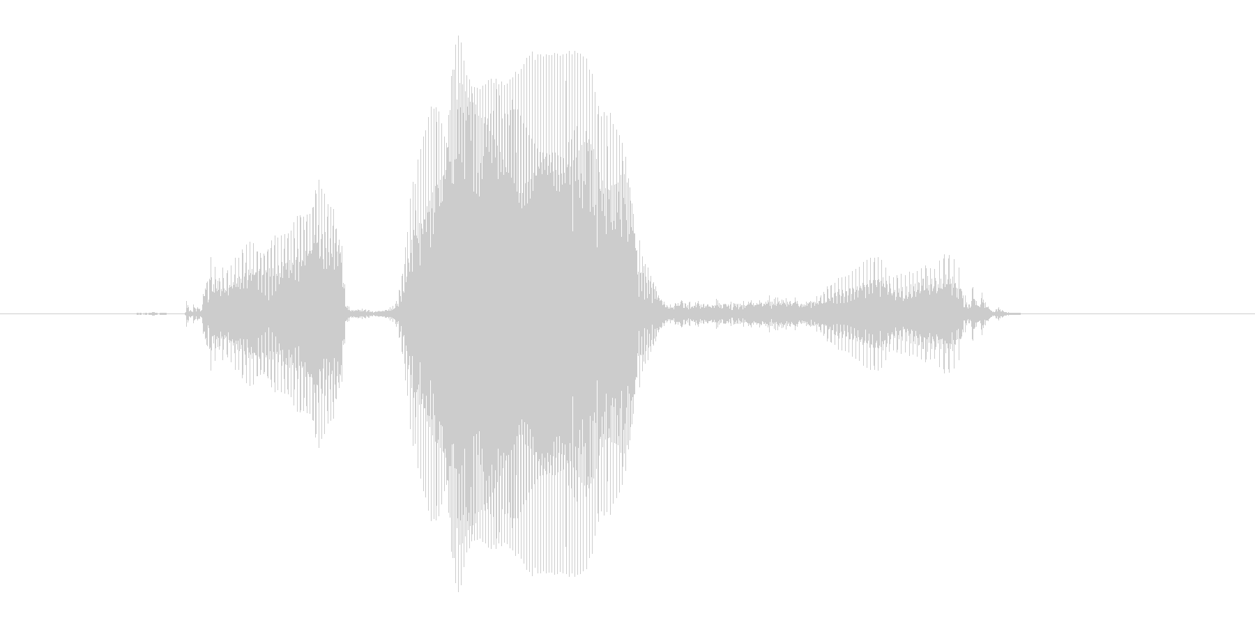 リバース・Reverse(女の子)の未再生の波形