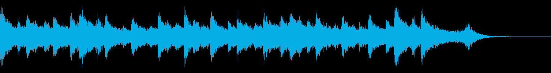 15秒CM ウエディング そよ風ピアノの再生済みの波形