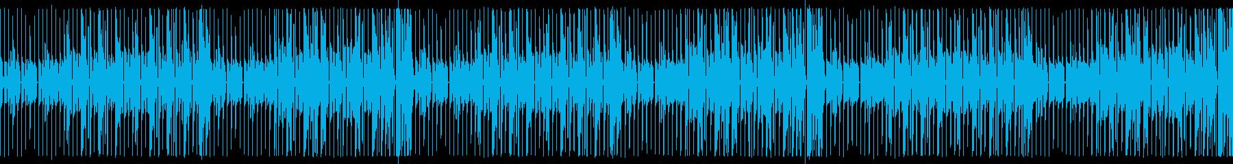 【ループ版】YouTube サックスの再生済みの波形