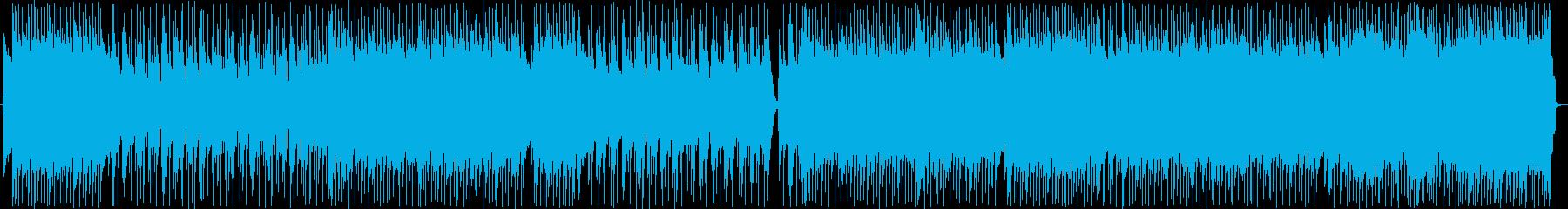 積極的。ロックソングと息を切らしま...の再生済みの波形