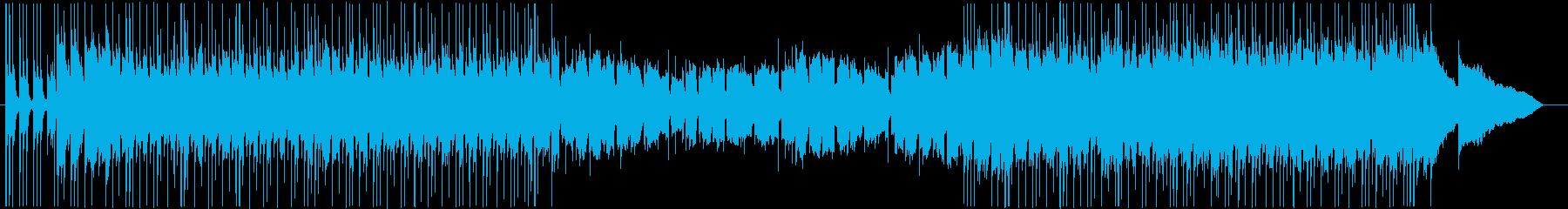 様々なシーンに使えるポップなロックの再生済みの波形