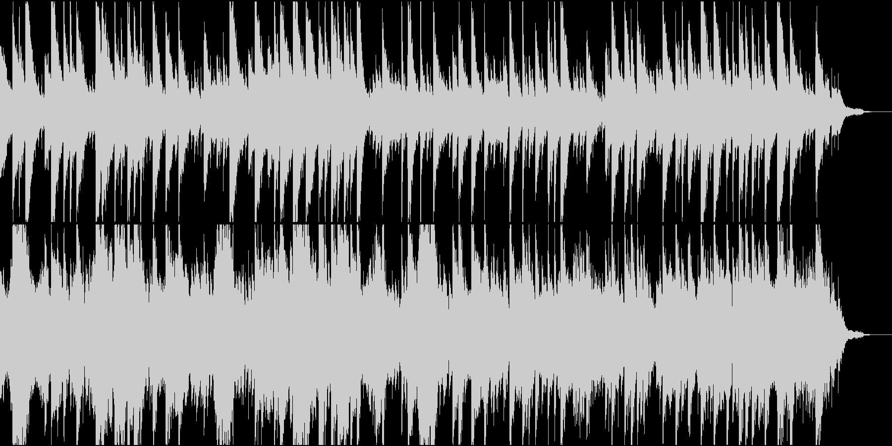 のびのびとしたほのぼの大空の未再生の波形