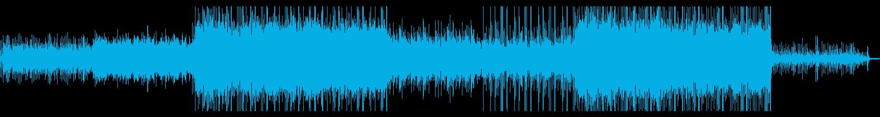和風HipHop・爽やかな夏空のピアノの再生済みの波形