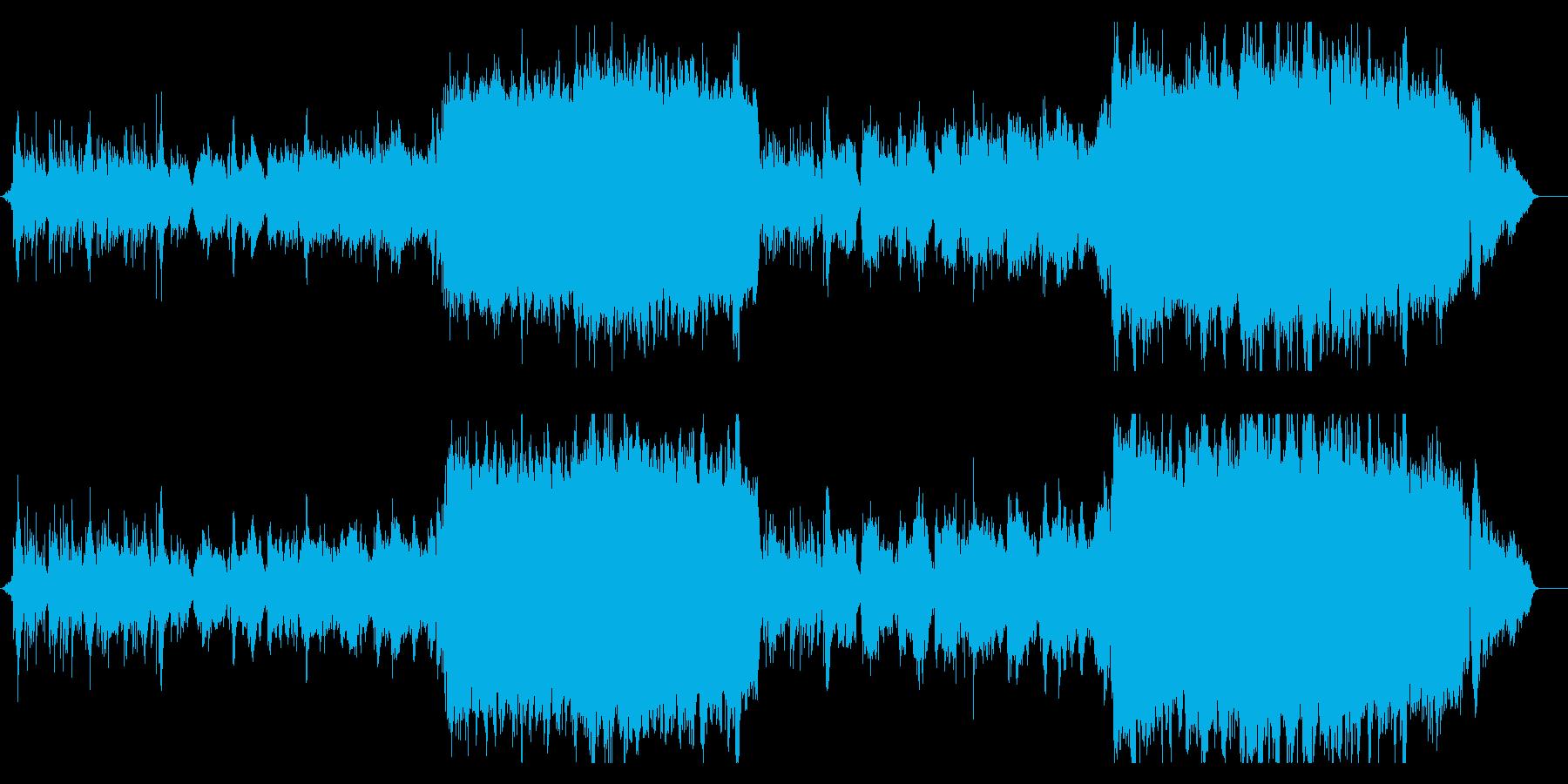 【生演奏】バイオリン、壮大和風バラードの再生済みの波形