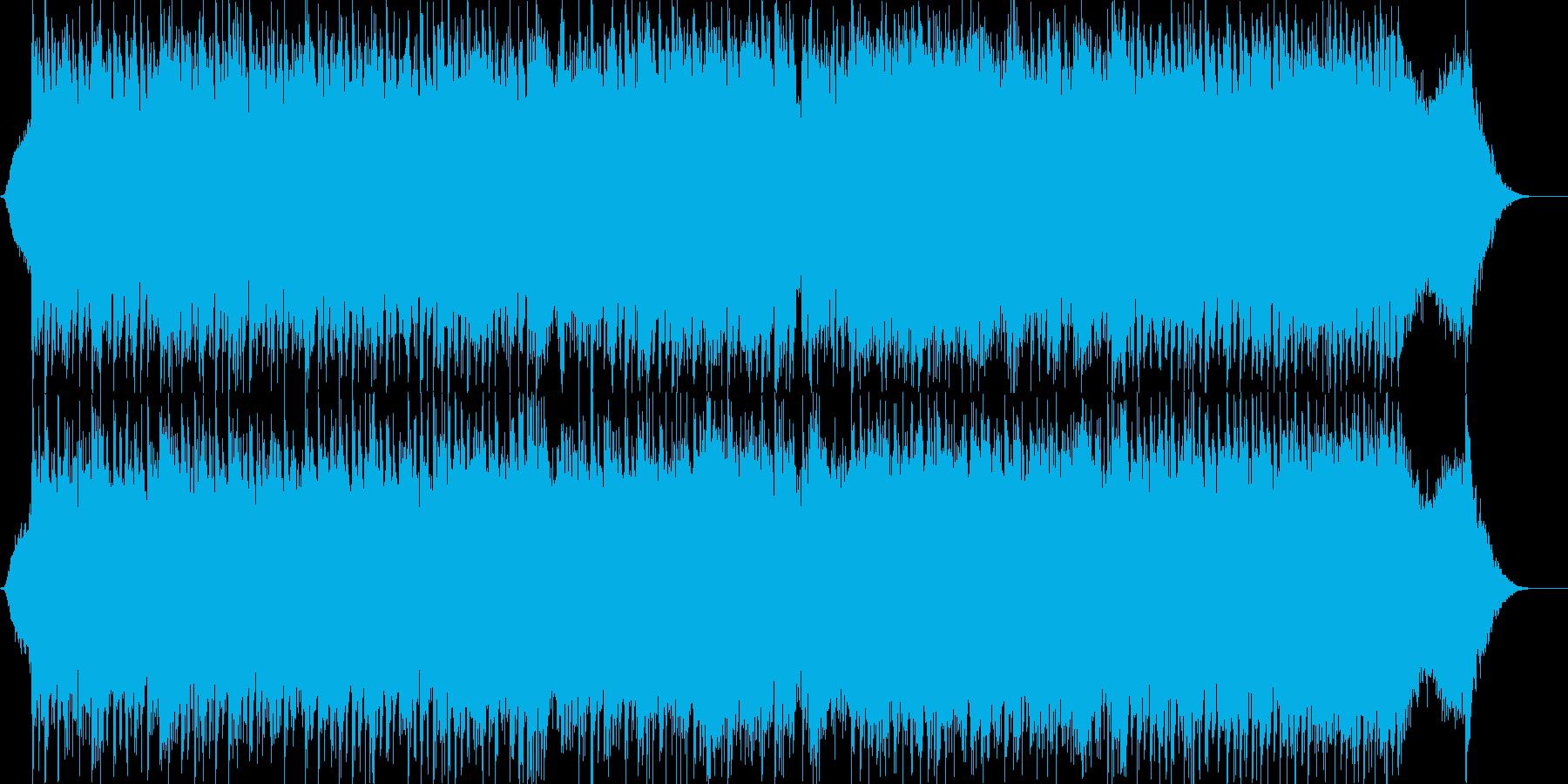 ダークファンタジーオーケストラ戦闘曲49の再生済みの波形