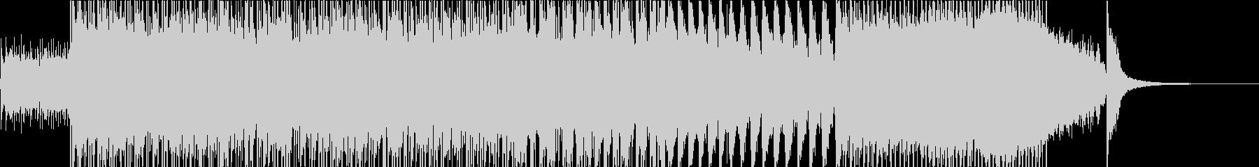 ヤングサウンズのエンディングテーマの未再生の波形