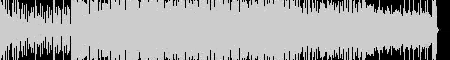 ピアノが爽やかなプログレッシヴハウスの未再生の波形