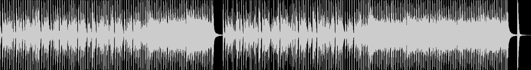 グルーヴ感溢れるファンク調セッションの未再生の波形