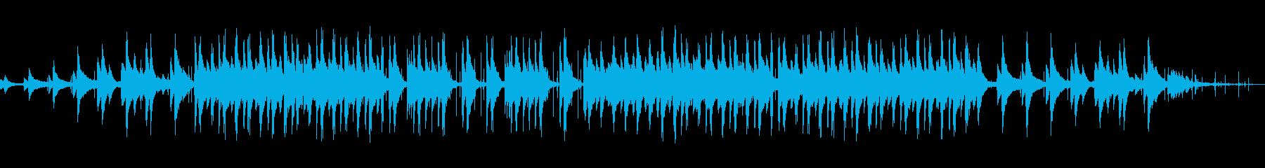 水の音が心地良いLofiJazzHopの再生済みの波形