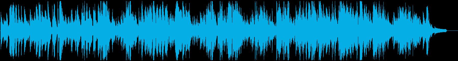 すごく渋いジャズバラード サックス生録の再生済みの波形