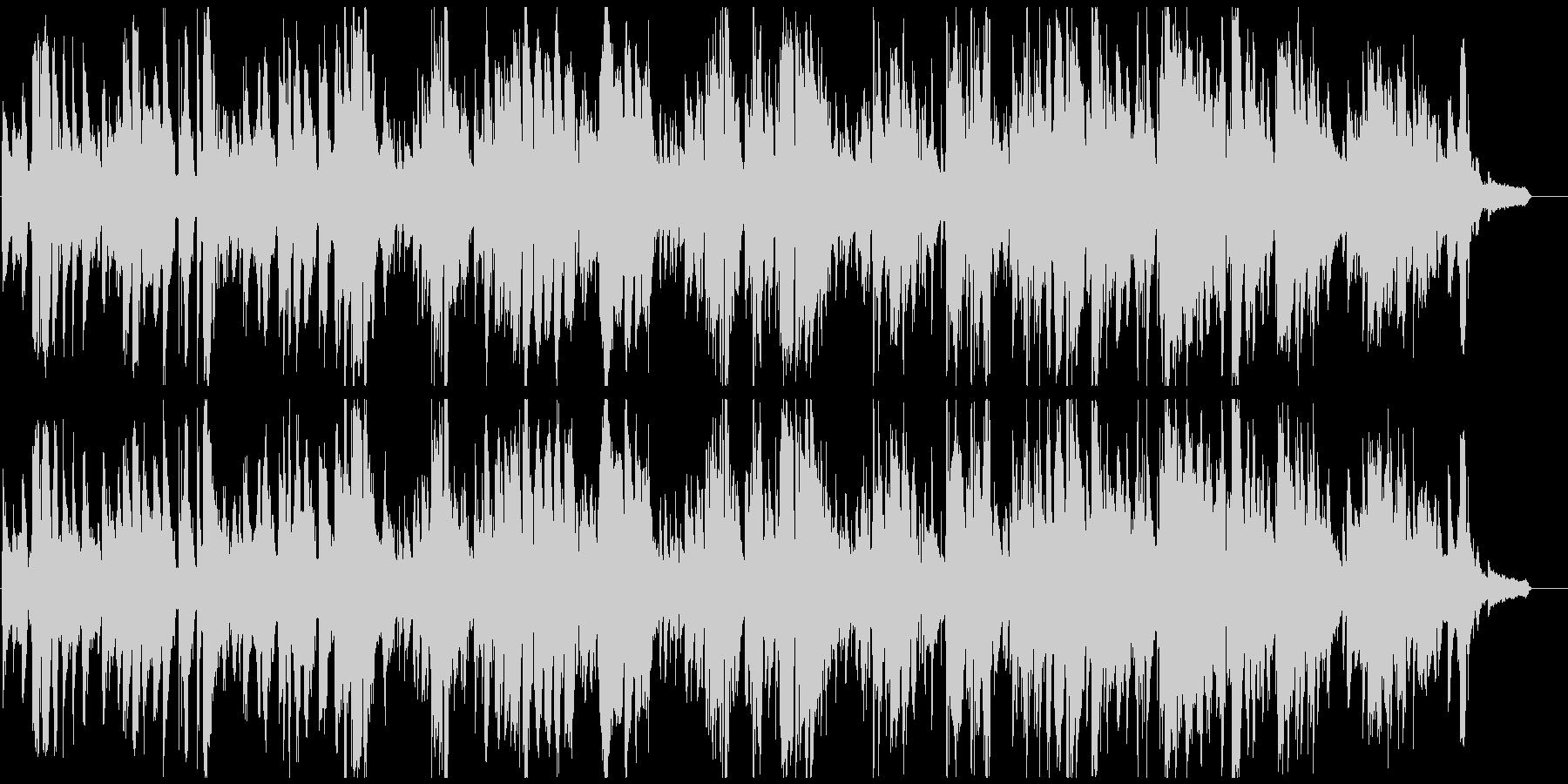 すごく渋いジャズバラード サックス生録の未再生の波形