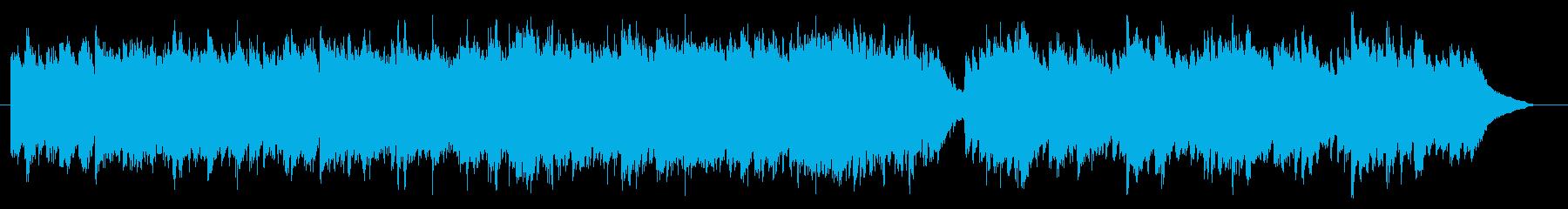 ピアノとストリングス/叙情系バラード曲の再生済みの波形