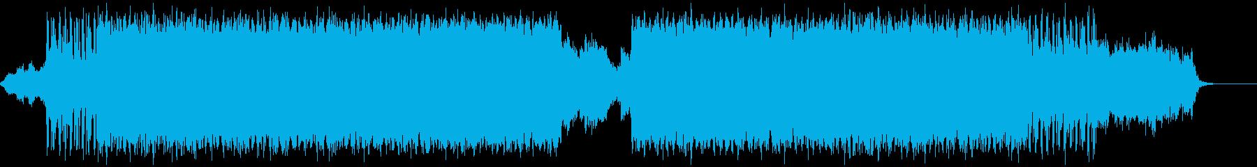 シンセとキックと808で跳ねるレゲトンの再生済みの波形
