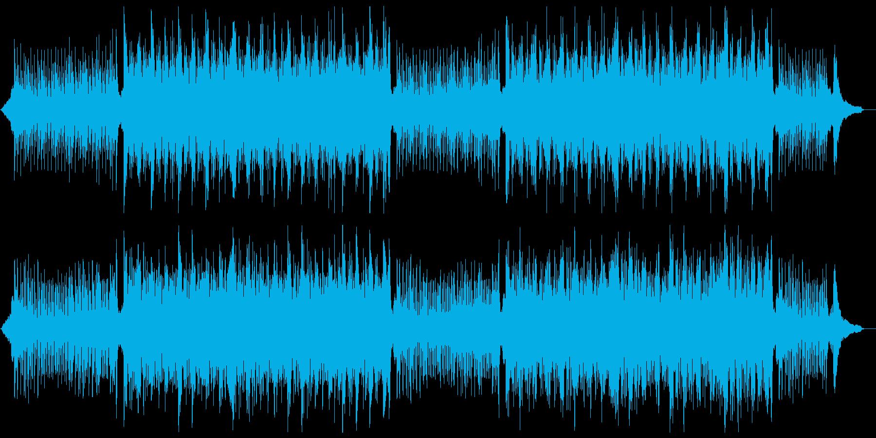知的なピアノバイオリン:フルx1の再生済みの波形