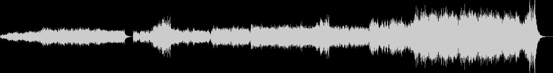 短調オリジナルオーケストラ楽曲の未再生の波形