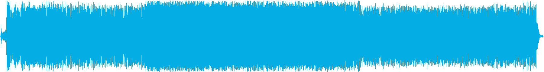 ボートモーターアイドルの再生済みの波形