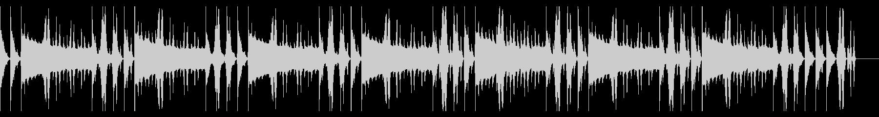 114 BPMの未再生の波形