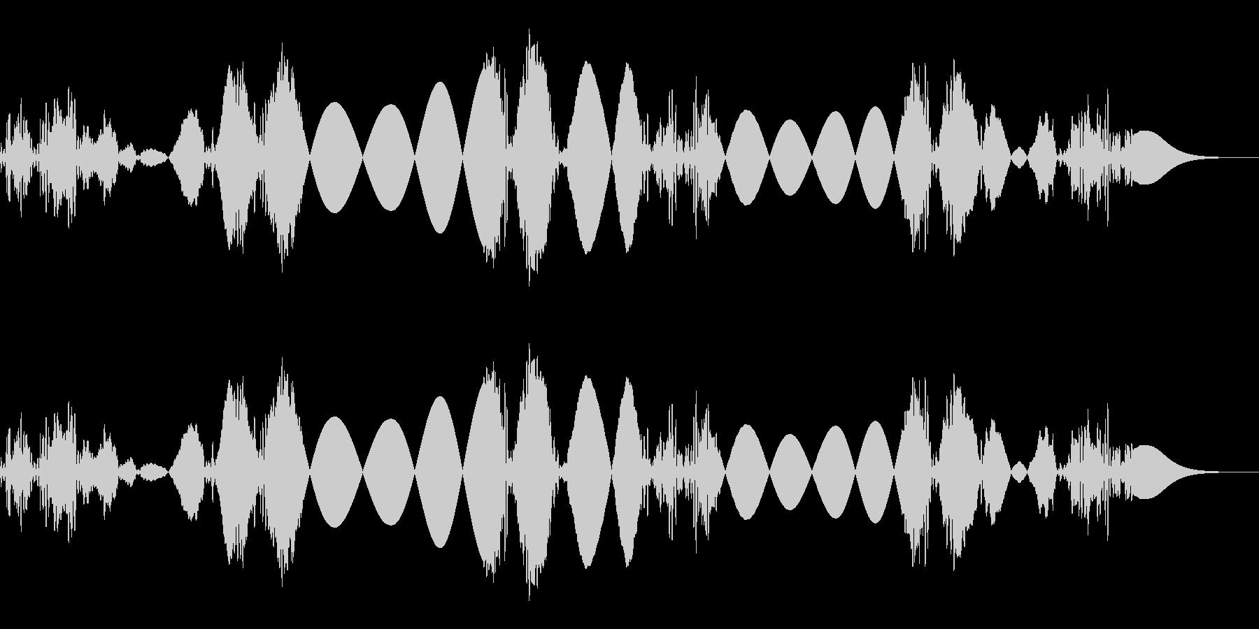 シャカシャカシャカ(高速)2の未再生の波形