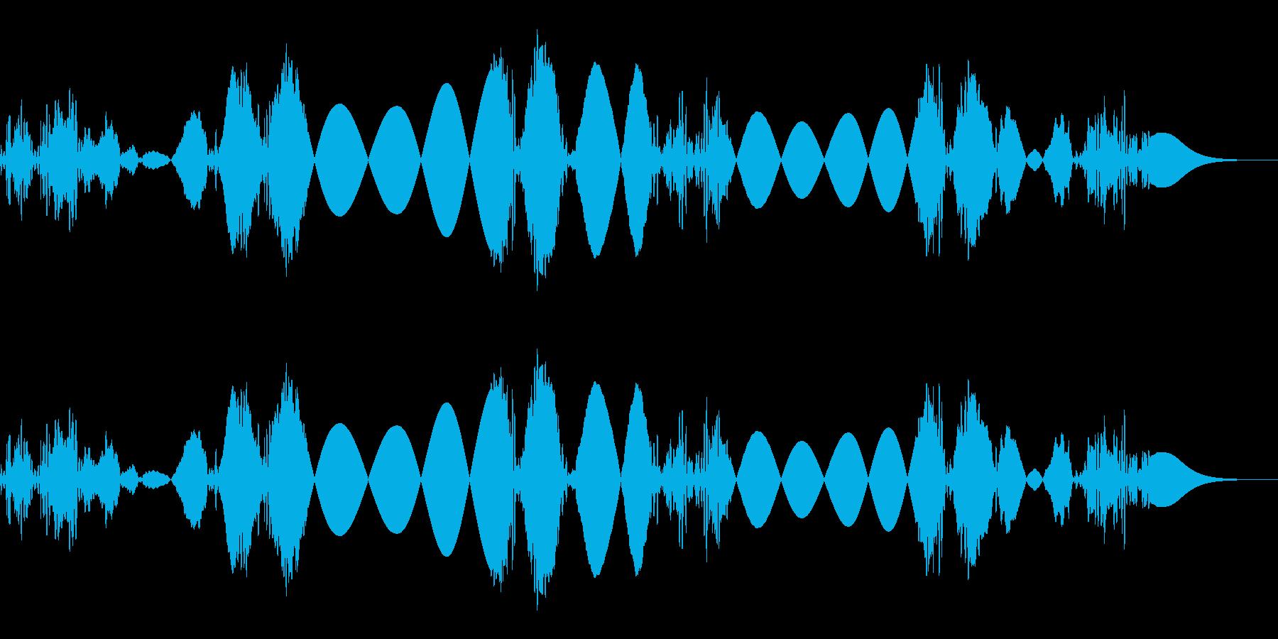 シャカシャカシャカ(高速)2の再生済みの波形