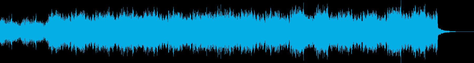 空気感のあるおしゃれジングル3の再生済みの波形
