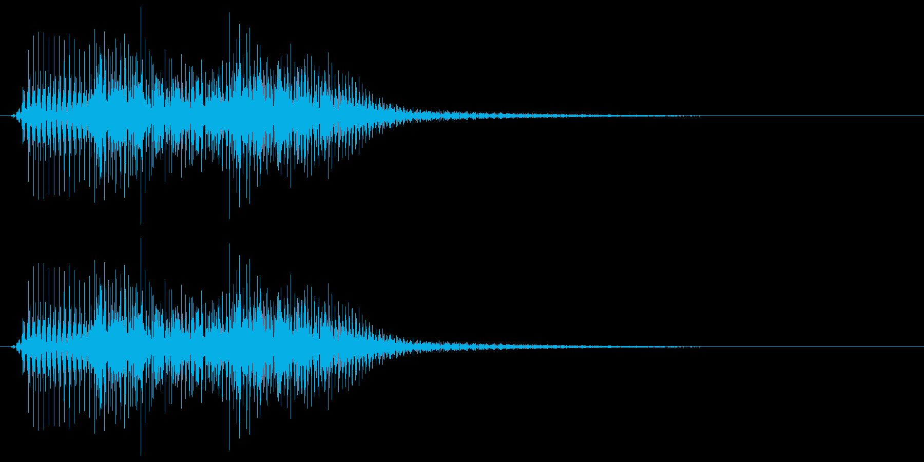 ピロリチン(アップグレードボタン音)の再生済みの波形