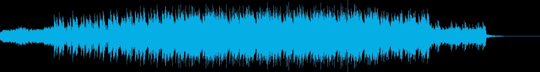 浮遊感のあるドリームシンセ ポップの再生済みの波形