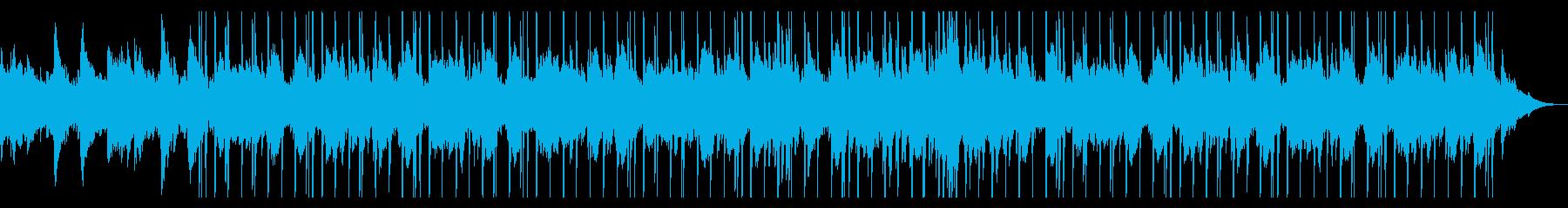 お洒落なチルアウト ピアノジャズソウルの再生済みの波形