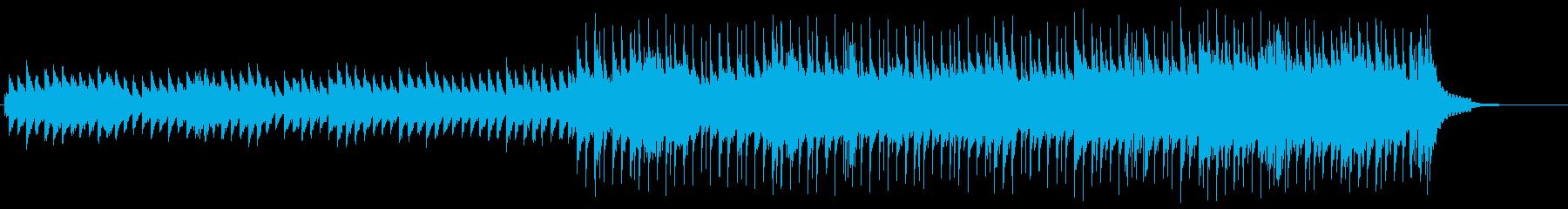 悲しいピアノバラードの再生済みの波形