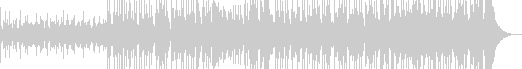 清涼感溢れるヒーリングテクノ Bの未再生の波形