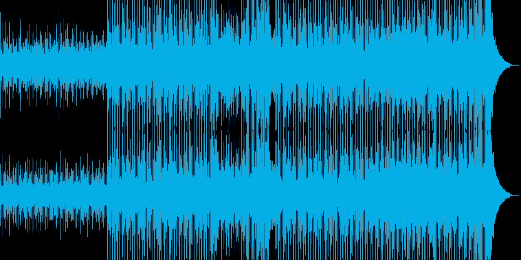清涼感溢れるヒーリングテクノ Bの再生済みの波形