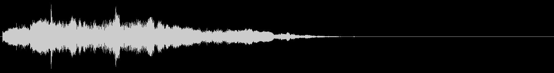アイキャッチ 21の未再生の波形