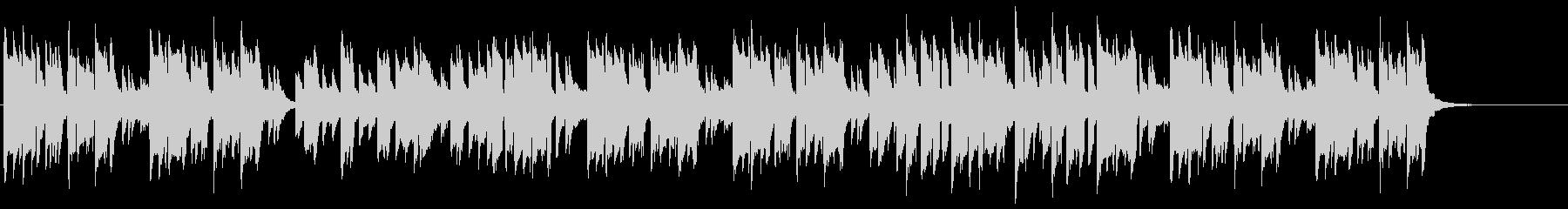 サックス、ピアノのほのぼの日常系ポップスの未再生の波形