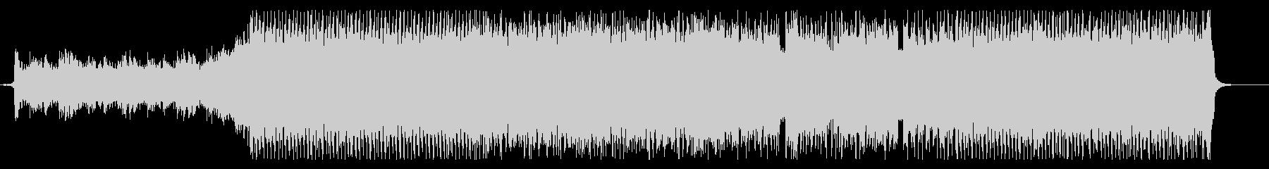 ゴリゴリのハイスピードなヘビィメタルの未再生の波形