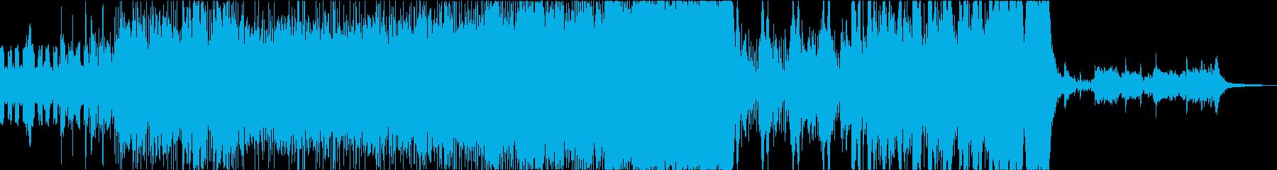 戦闘・疾走感・ヒロイックなオーケストラの再生済みの波形