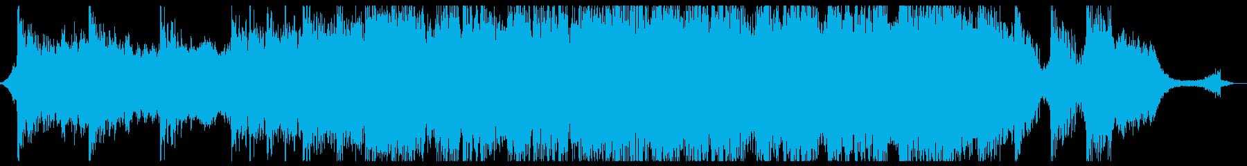 現代的 交響曲 未来 テクノロジー...の再生済みの波形
