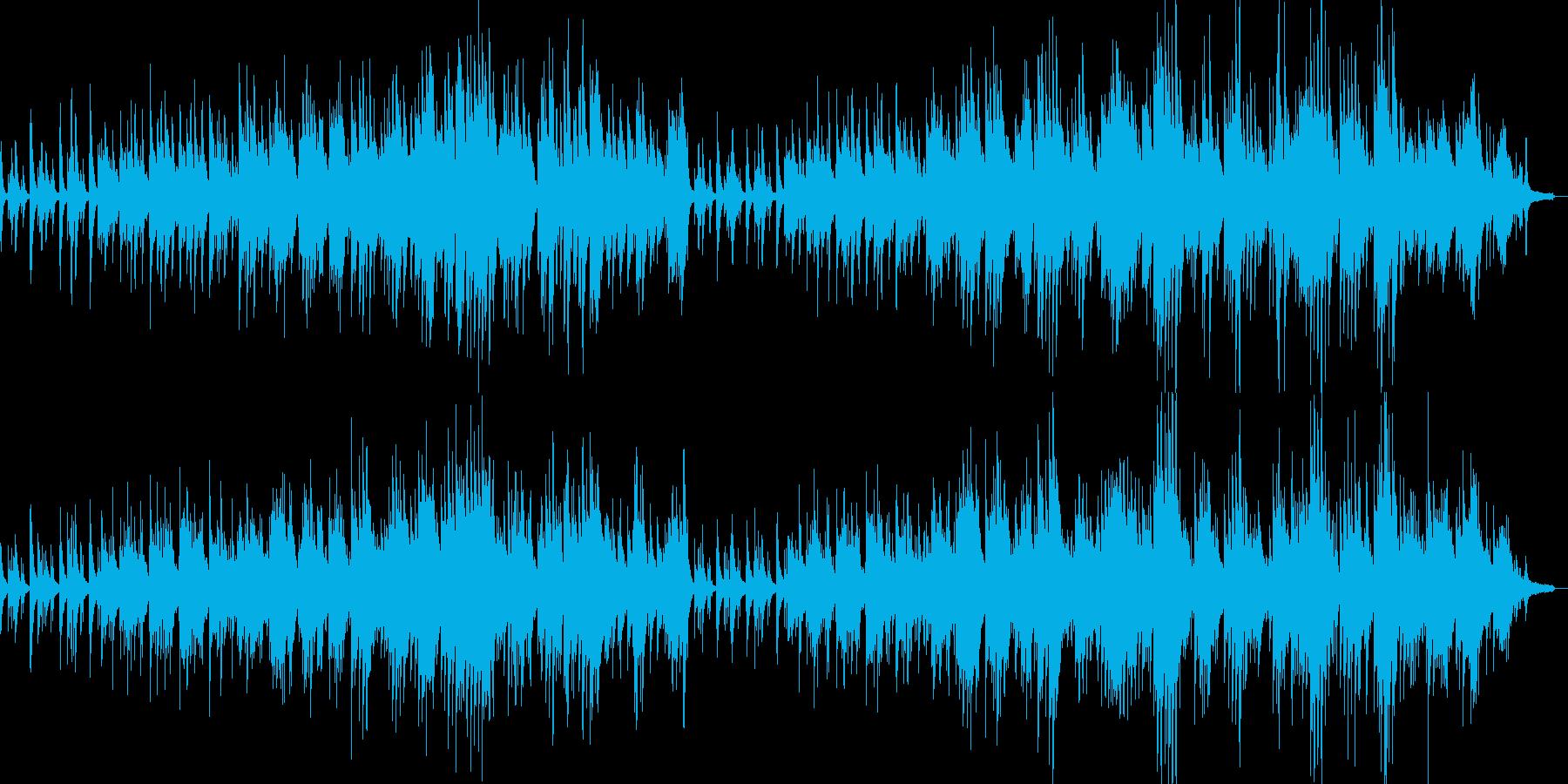 感動的なシーンに適したピアノソロ曲の再生済みの波形
