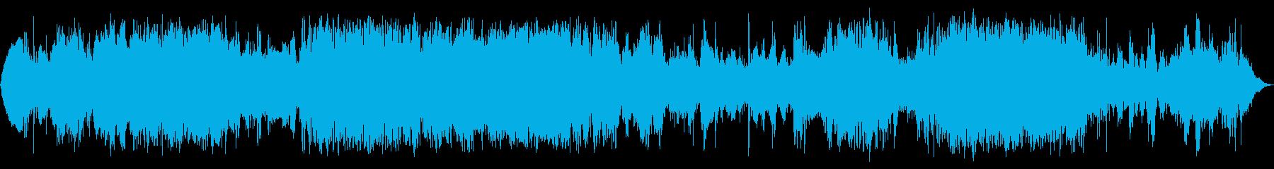 グルーヴィースペース2の再生済みの波形