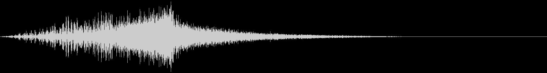 シューッという音EC07_91_1の未再生の波形